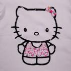 Фото: Футболкас принтом Hello Kitty белая (артикул O 40062-white) - изображение 5