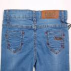 Фото: Лёгкие джинсы с потёртостями  (артикул O 60050-jeans) - изображение 7