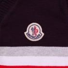 Фото: Кофта с полосами и логотипом (артикул O 20076-deep blue) - изображение 6