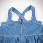 Фото: Джинсовый сарафан с драпировкой (артикул Z 50019-jeans) - изображение 4