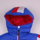 Фото: Куртка с полосами (артикул O 10162-blue) - изображение 5
