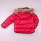 Фото: Красный пуховой костюм для зимы    (артикул O 70037-red) - изображение 6