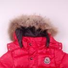 Фото: Красный пуховой костюм для зимы    (артикул O 70037-red) - изображение 7