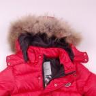 Фото: Красный пуховой костюм для зимы    (артикул O 70037-red) - изображение 8