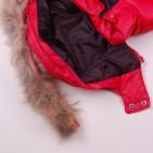 Фото: Красный пуховой костюм для зимы    (артикул O 70037-red) - изображение 9
