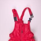Фото: Красный пуховой костюм для зимы    (артикул O 70037-red) - изображение 12