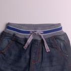 Фото: Джинсы на резинке с подворотами для мальчика (артикул Z 60179-jeans) - изображение 5