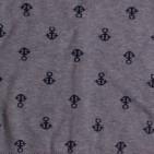 Фото: Кофта на пуговицах с якорями (артикул O 20093-grey) - изображение 7