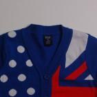 Фото: Кофта с флагом и звездами. (артикул Gp 20014-blue) - изображение 5