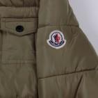 Фото: Зимняя куртка с меховым капюшоном (артикул O 10178-khaki) - изображение 9