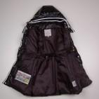 Фото: Пальто удлиненное с капюшоном (артикул O 10177-black) - изображение 5
