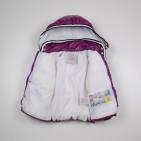 Фото: Детская зимняя куртка с капюшоном (артикул O 10176-violet) - изображение 5
