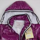 Фото: Детская зимняя куртка с капюшоном (артикул O 10176-violet) - изображение 6