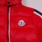 Фото: Синтипоновая зимняя куртка с капюшоном (артикул O 10179-red) - изображение 6