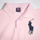Фото: Футболка Big Polo (артикул RL 40001-light pink1) - изображение 5