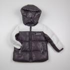 Фото: Детский пуховой костюм для зимы (артикул O 70036-grey) - изображение 5