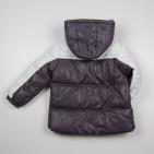 Фото: Детский пуховой костюм для зимы (артикул O 70036-grey) - изображение 6