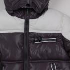 Фото: Детский пуховой костюм для зимы (артикул O 70036-grey) - изображение 7
