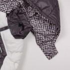 Фото: Детский пуховой костюм для зимы (артикул O 70036-grey) - изображение 9