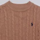 Фото: Вязаный свитер для детей купить (артикул RL 20035-light brown) - изображение 5