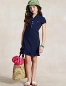 Фото: Платье Polo тёмно-синего цвета (артикул RL 50002-deep blue) - изображение 6