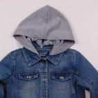Фото: Куртка джинсовая с капюшоном (артикул Gs 10003-jeans) - изображение 5