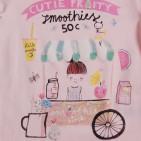 Фото: Кофточка с рисунком девочки (артикул O 30119-light pink) - изображение 5