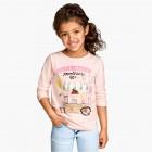 Фото: Кофточка с рисунком девочки (артикул O 30119-light pink) - изображение 7