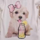 Фото: Кофточка с собачкой (артикул O 30121-white) - изображение 6