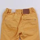 Фото: Детские джинсы желтого цвета с манжетами купить  (артикул O 60074-yellow) - изображение 6