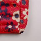 Фото: Красный жилет для девочки с цветочным принтом (артикул Gp 10008-red) - изображение 5