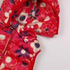 Фото: Красный жилет для девочки с цветочным принтом (артикул Gp 10008-red) - изображение 8