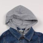 Фото: Куртка с трикотажным капюшоном (артикул Gs 10004-jeans) - изображение 8