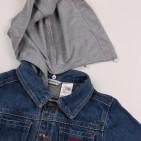 Фото: Куртка с трикотажным капюшоном (артикул Gs 10004-jeans) - изображение 9