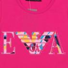 Фото: Розовая футболка для маленьких девочек (артикул O 40099-pink) - изображение 5