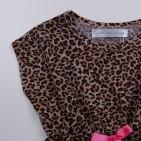 Фото: Леопардовая туника с бантиком (артикул O 50280-leopard) - изображение 5