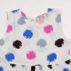 Фото: Платье в яркий горошек (артикул O 50282-colored) - изображение 5
