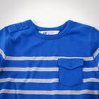 Фото: H&M. Кофточка с карманом (артикул O 30009-blue) - изображение 5