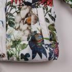 Фото: Зимний костюм для девочки с цветочным рисунком (артикул O 70048-flowers) - изображение 9