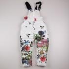 Фото: Зимний костюм для девочки с цветочным рисунком (артикул O 70048-flowers) - изображение 11