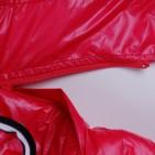 Фото: Пальто зимнее удлинённое кораллового цвета (артикул O 10177-coral) - изображение 8