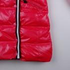 Фото: Пальто зимнее удлинённое кораллового цвета (артикул O 10177-coral) - изображение 10