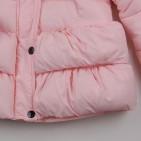 Фото: Зимняя куртка с рюшами (артикул O 10225-light pink) - изображение 5