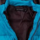 Фото: Стеганая куртка с капюшоном (артикул O 10221-azure) - изображение 9