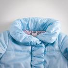 Фото: Куртка с оборкой (артикул Z 10004-light blue) - изображение 5