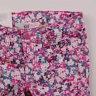 Фото: Цветные детские джинсы с принтом (артикул O 60115-pink flowers) - изображение 5
