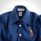 Фото: Рубашка Big Poni. Лимитированая коллекция (артикул RL 30013-deep blue) - изображение 5