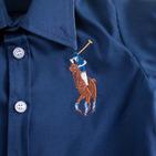 Фото: Рубашка Big Poni. Лимитированая коллекция (артикул RL 30013-deep blue) - изображение 6