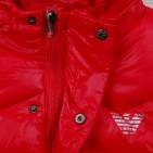 Фото: Стёганая жилетка с логотипом Armani (артикул O 10117-red) - изображение 5