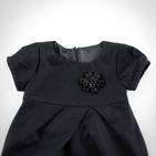 Фото: Платье с брошкой (артикул Z 50020-black) - изображение 5